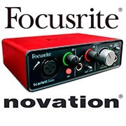 Новое поступление звуковых карт Focusrite и контроллеров Novation !