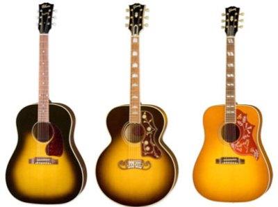 Типы акустических гитар