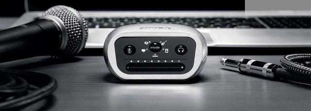 Портативный цифровой аудиоинтерфейс SHURE MVILTG