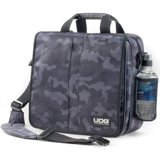 Сумка для винила udg courier bag steel grey/orange inside (udg9419)