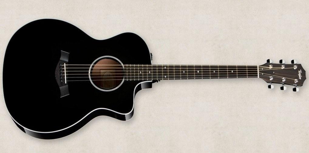 Электроакустическая гитара TAYLOR 214Ce BLK DLX