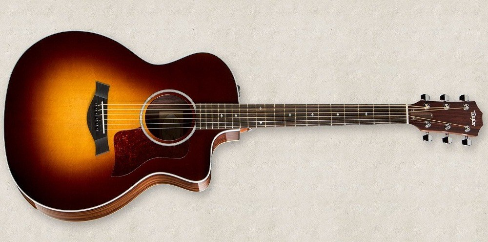 Электроакустическая гитара TAYLOR 214Ce SB DLX
