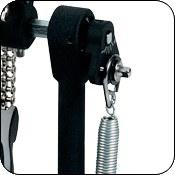 Пружинная кулиса на подшипнике обеспечивает гладкое и плавное движение.