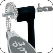 Конструкция ведомой педали Single Post Casting  обеспечивает удобство движения между педалью и механикой хета, позволяя использовать их как независимо так и одновремекнно. (U.S. Patent No. 5396826).