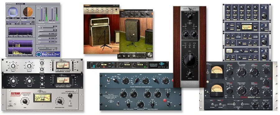 Universal Audio Analog Classics и TC Electronic
