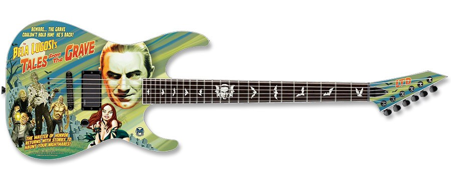LTD ESP BELA LUGOSI TALES FROM THE GRAVE