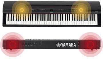 YAMAHA P-255