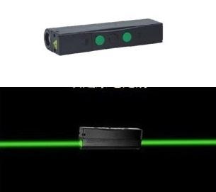 Лазерный указатель TVS двусторонний, зеленый 80mWx2