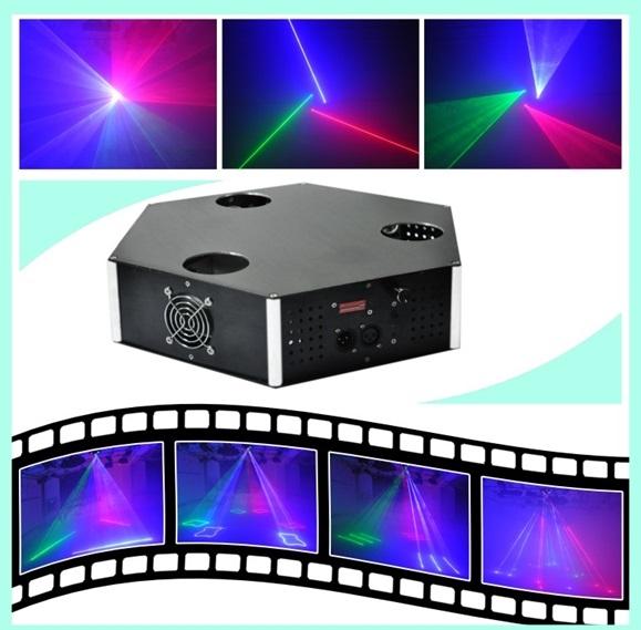Лазер LanLing L233RGB 350mW RGB Three Tunnel Laser Show System