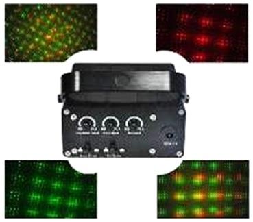 Лазер LanLing L601RG Mini Twinkling 100mW RGY Light