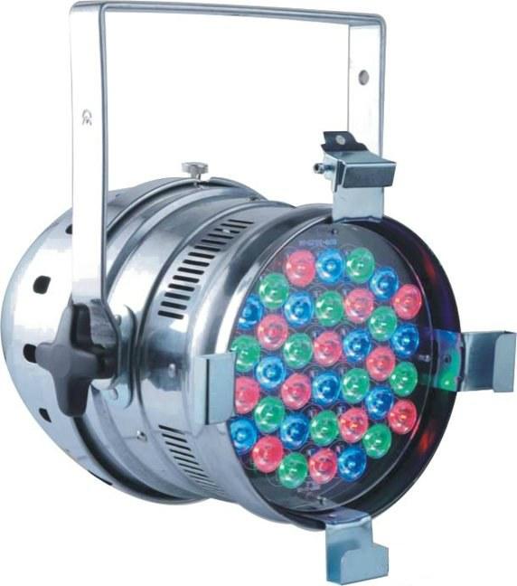 Светодиодный прожектор DJ Lights Led PAR-64 RGB 36*3