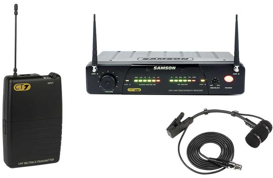 Радиосистема SAMSON SW77VSW4E UHF CONCERT 77 w/HM40