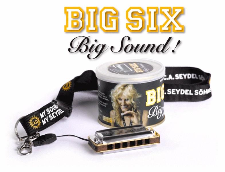Блюзовая губная гармоника SEYDEL BIG SIX CLASSIC C-major