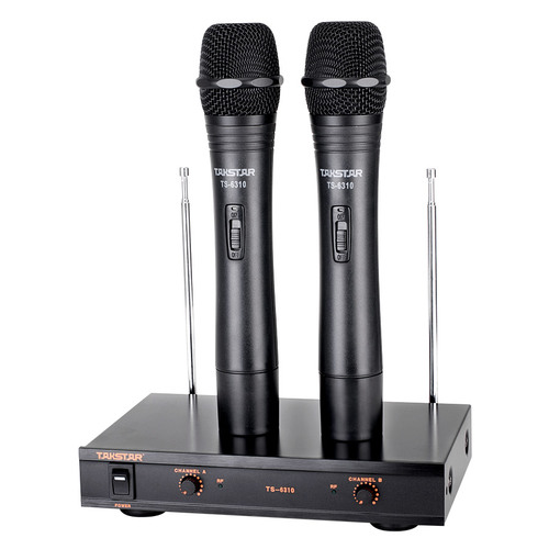 2х канальные беспроводные микрофонные системы Takstar TS-6310