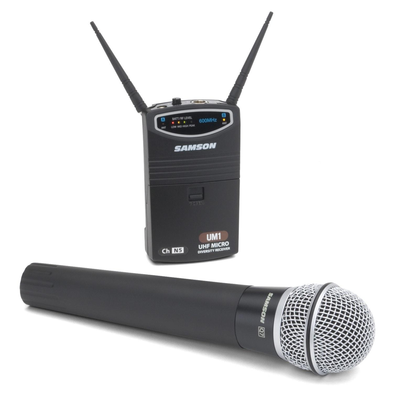 Радиосистема SAMSON SW87SHQ7 UHF CONCERT 77 UM1 VIDEO w/Q7
