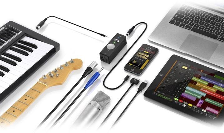 Аудио-MIDI-интерфейс IK MULTIMEDIA iRIG PRO