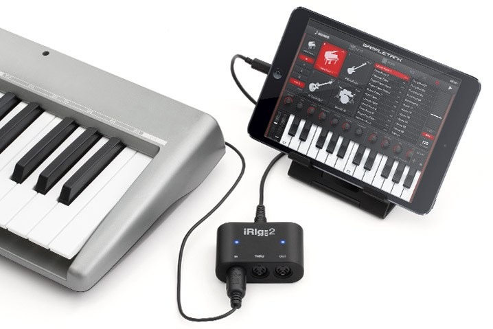 MIDI-адаптер IK MULTIMEDIA IRIG MIDI2
