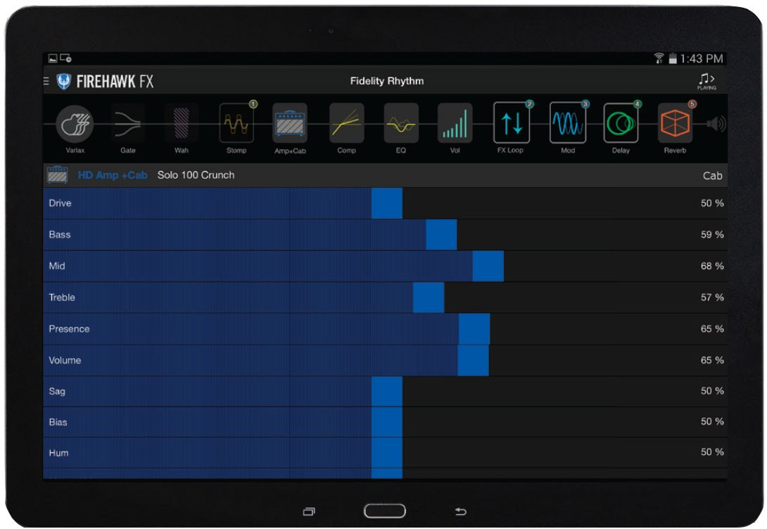 Гитарный процессор LINE 6 FIREHAWK FX