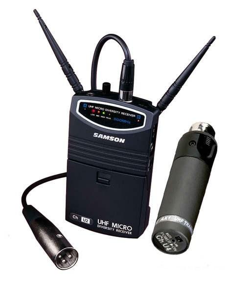 Радиосистема SAMSON SW9SHX UHF AX1/UM1 VIDEO