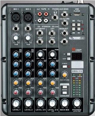 Микшерный пульт Dj Lights UM6-DP