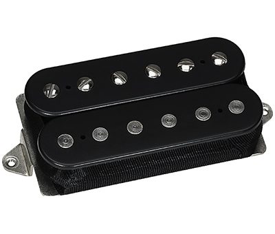 Звукосниматель для гитары ILLUMINATOR BRIDGE BLACK (F-Spaced) DIMARZIO DP257FBK