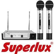Новое поступление от производителя SUPERLUX: высококачественные наушники, микрофоны и радиосистемы!
