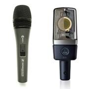 Особенности конденсаторных и динамических микрофонов