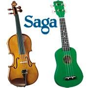 Новые модели музыкальных инструментов от SAGA!