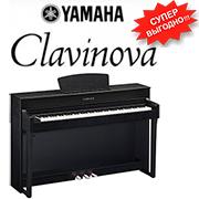 Новая линейка цифровых пианино Clavinova CLP-600!