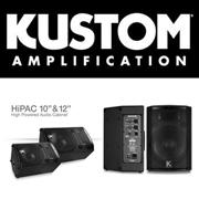 Мощные и надежные акустические системы от Kustom!