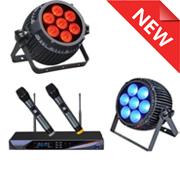 Новые модели звукового и светового оборудования!