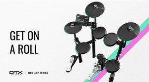 Стань барабанщиком с Yamaha! Новое поступление на склад 4Club: Yamaha DTX402K / 432K / 452K!