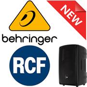 Новинки от RCF и BEHRINGER!
