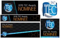 NAMM TEC AWARDS 2019 представила номинантов в категории «Оборудование про-аудио»