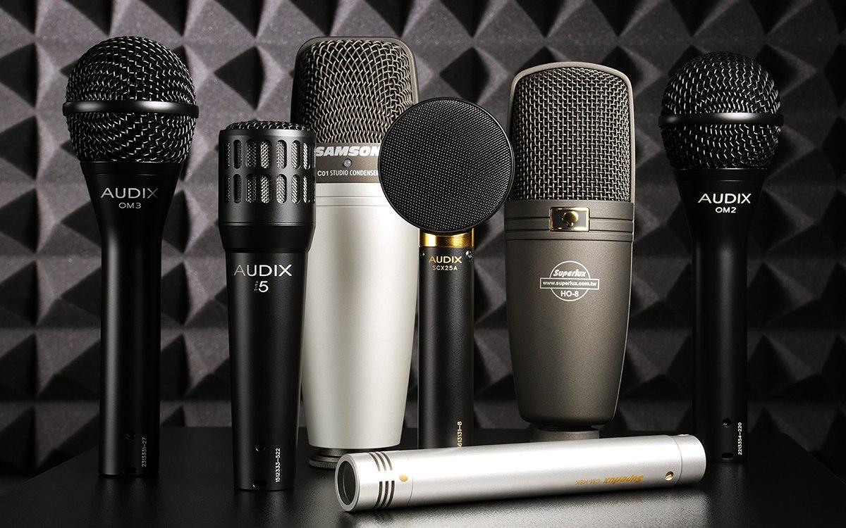 Какой микрофон лучше конденсаторный или динамический