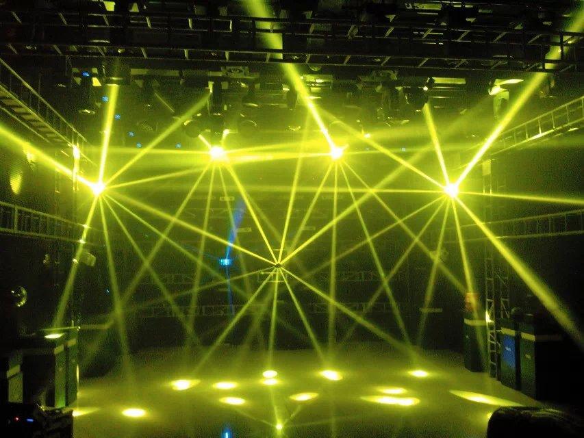 светодиоды-сканер-перемещение-головы-луч-света