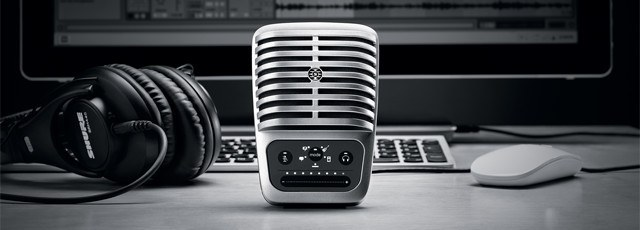 Конденсаторный USB-микрофон MV51