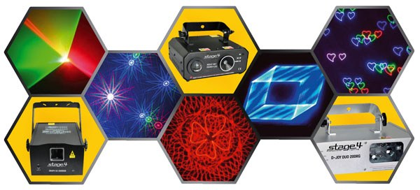 Виды лазерного и светового оборудования