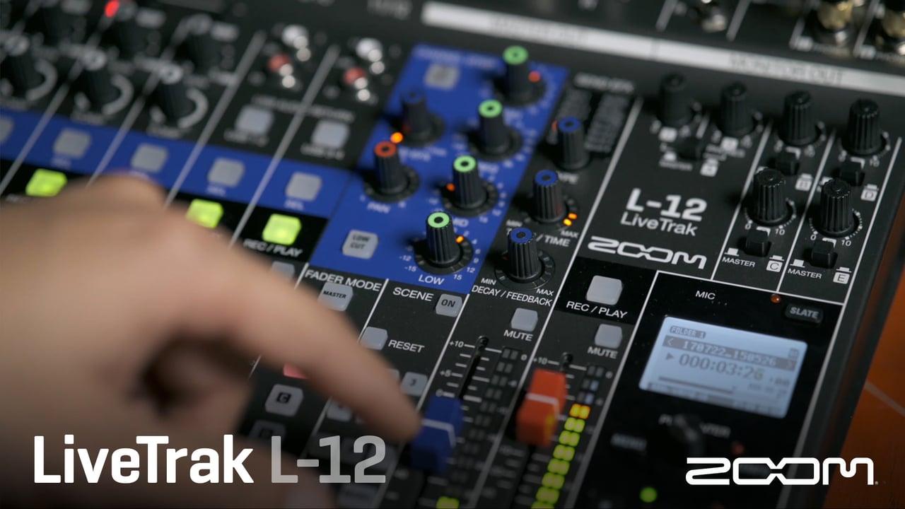 Zoom LiveTrak L-12