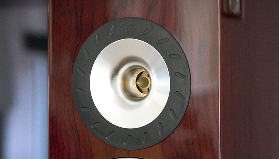 Полочная акустика Triangle DUETTO Mahogany
