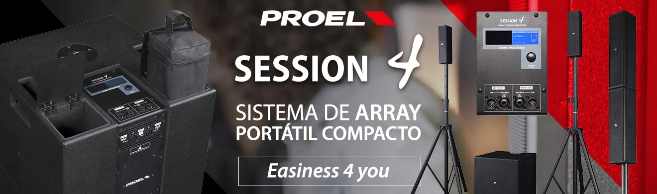 Активная акустическая система Proel Session4