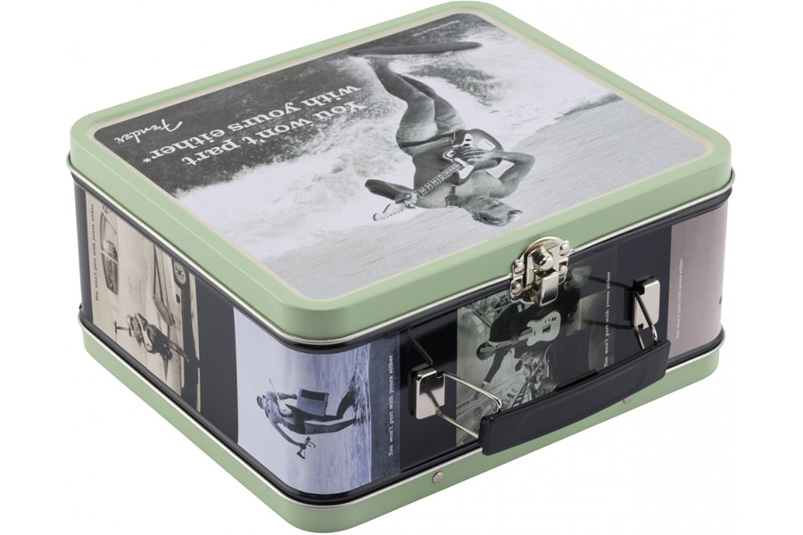 Fender /'You Won/'t Part With Yours Either/' Lunchbox Includes Accesso