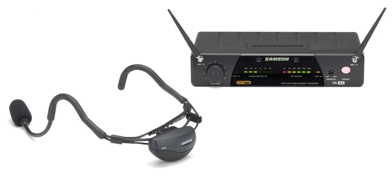 Радиосистема SAMSON SW7AVSCV10 UHF AIRLINE 77 w/QV10