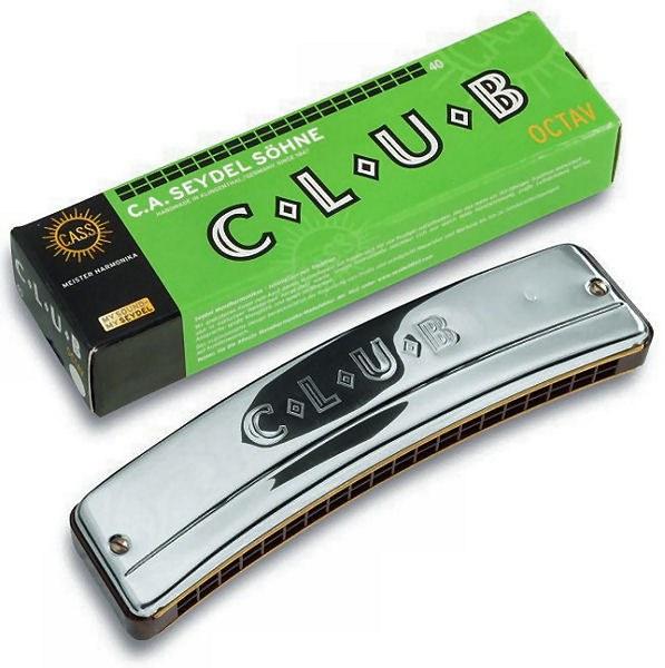 Октавная губная гармоника SEYDEL CLUB 40 C