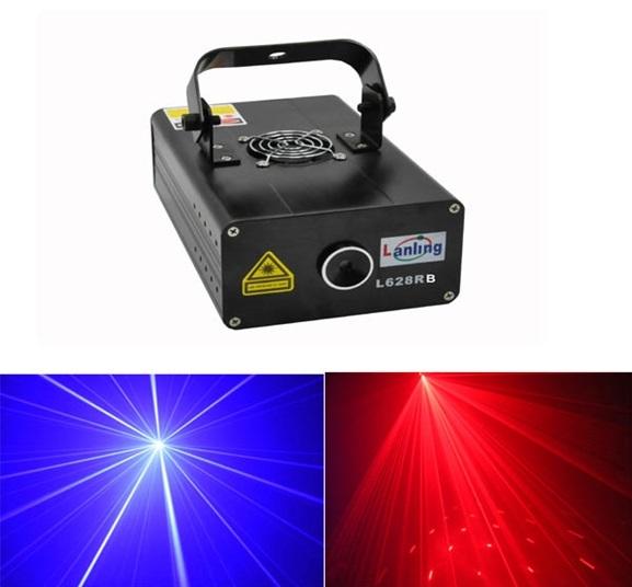 Лазер LanLing L628RB 500mW RB Fireworks/Firefly Twinkling Laser Light