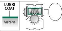 Колок для электрогитары (левый) GOTOH SG381-07L/WS02 B
