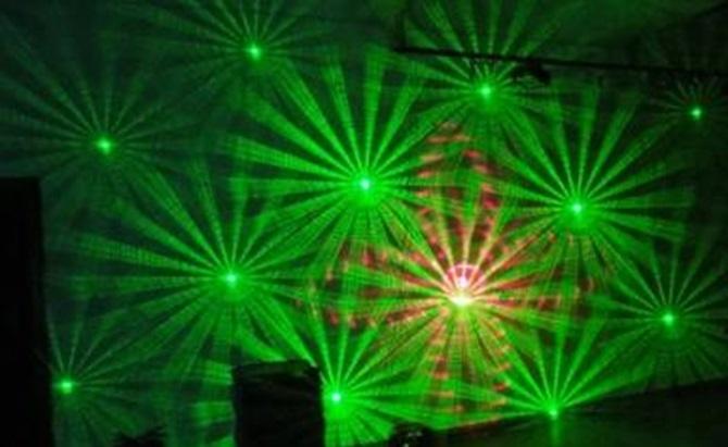 Лазер TVS QS-2 Gobo RG Laser Light