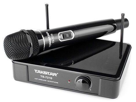 Беспроводной микрофон Takstar TS-7210 Black UHF