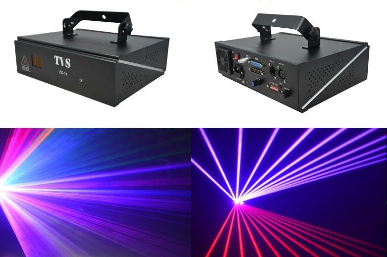 Лазер TVS VS-11 RGB Animated 1100mw