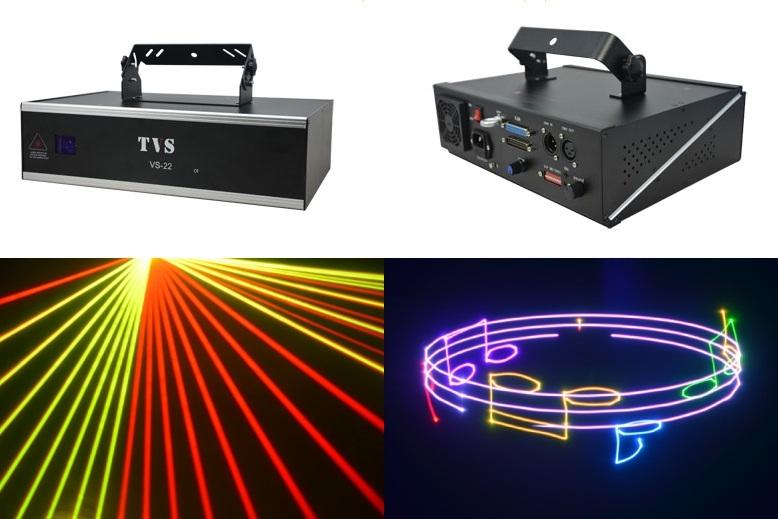 Анимационный лазер TVS VS-22 RGB Animated 2000mw